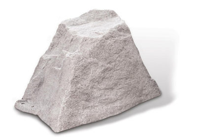 Small Fake Rock - Model 106 in Field Stone