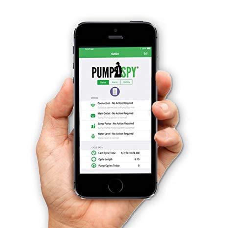 PumpSpy Sump Pump Battery Backup with App