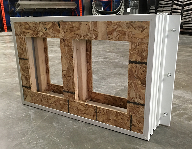 Pour-in-Place windows at EHS Sales